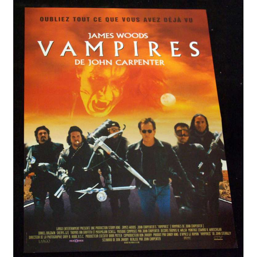 VAMPIRES Movie Poster 15x21 '99 John Carpenter, James Woods
