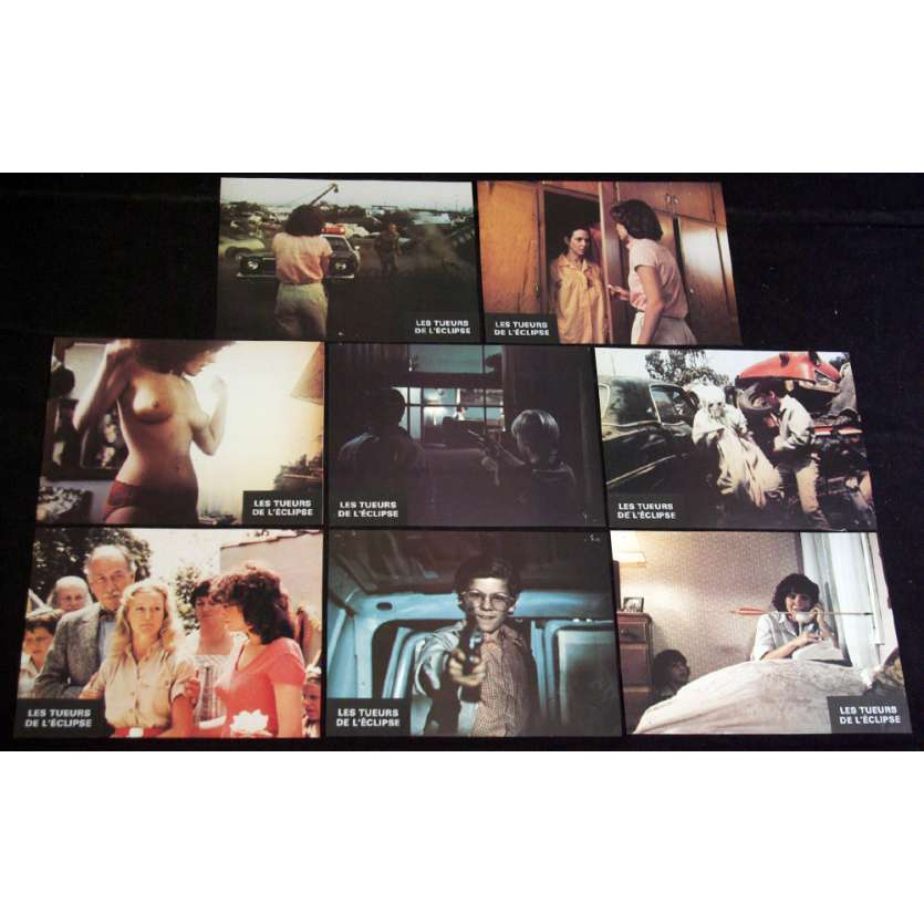 BLOODY BIRTHDAY Lobby Cards x8 '81 fernando Rey