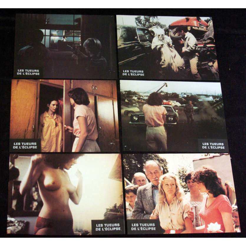 BLOODY BIRTHDAY Lobby Cards x6 '81 fernando Rey