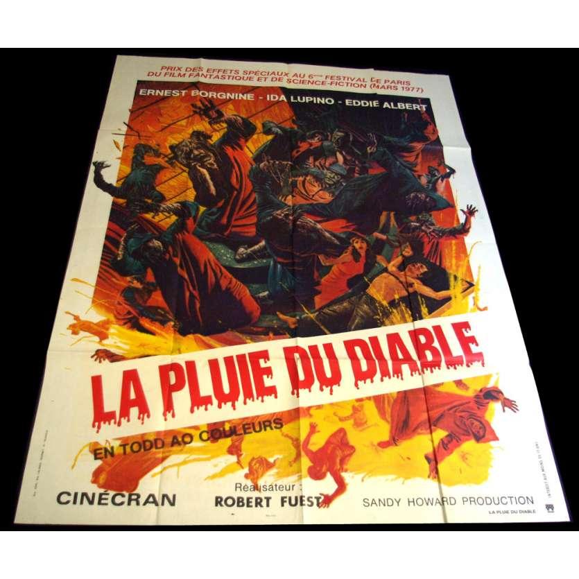 DEVIL'S RAIN Movie Poster 47x63 '74 William Shatner, John Travolta