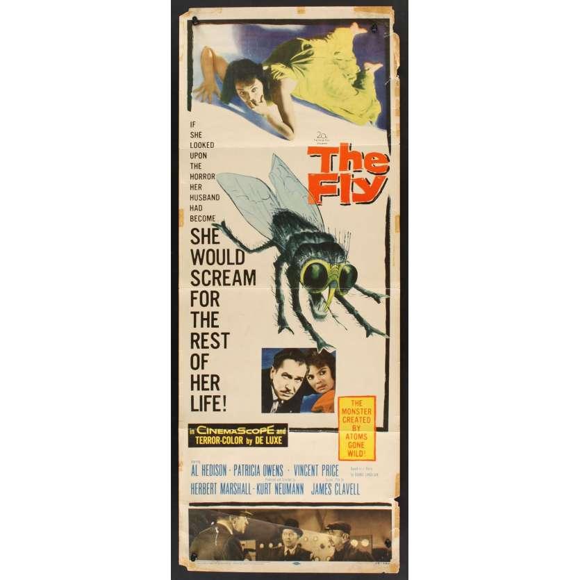 Mauvais-genres.com LA MOUCHE NOIRE Vincent Price Affiche du film USA 1958 Affiches cinéma