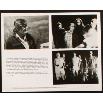NIGHT OF THE LIVING DEAD Photo de presse N2 '90 Tom Savini, George Romero