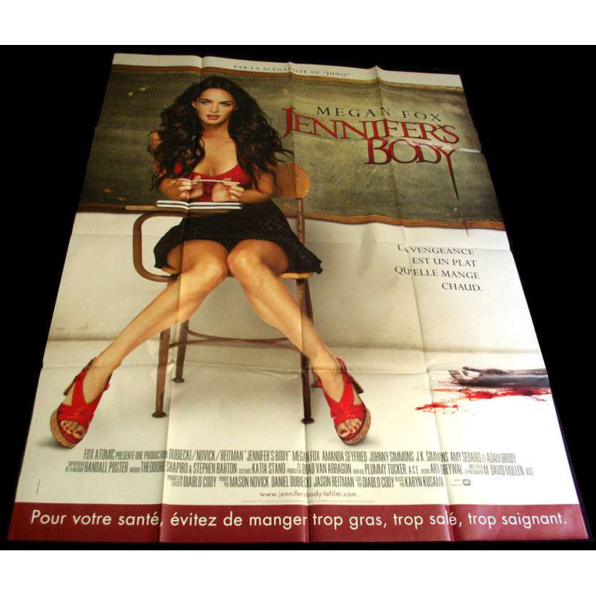 JENNIFER'S BODY Affiche 120x160 FR '09 Megan Fox