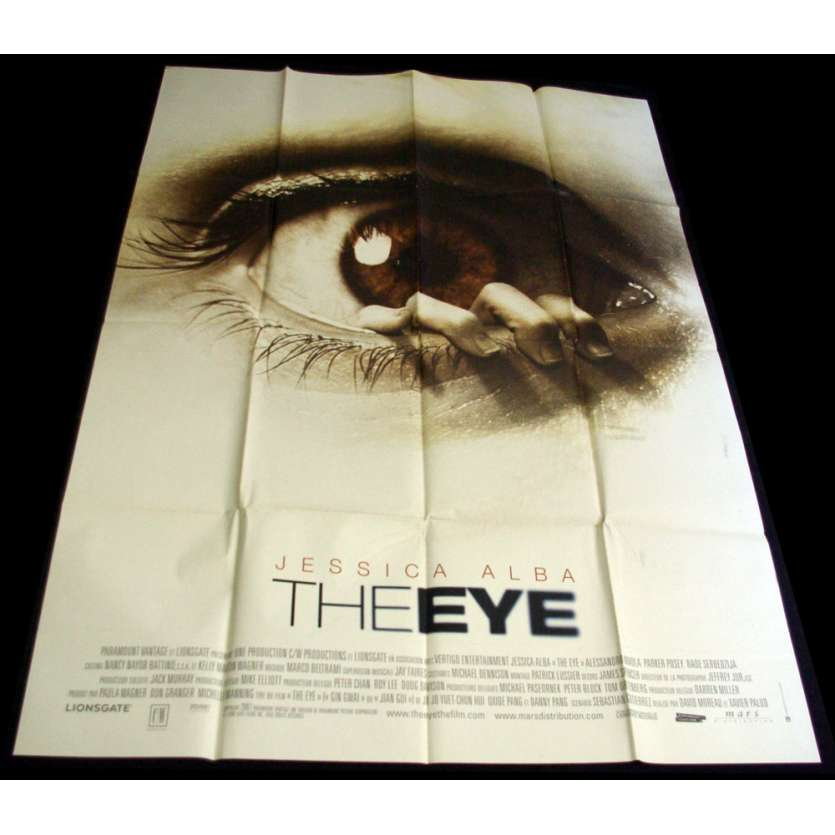 EYE Movie Poster 47x63 Jessica Alba