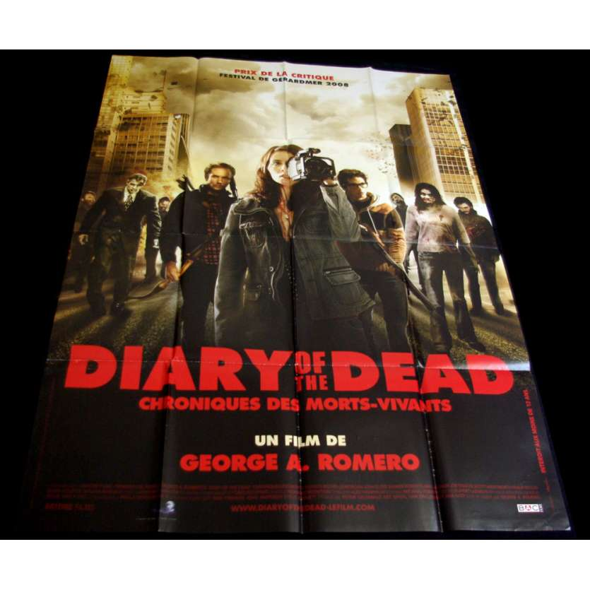 DIARY OF THE DEAD Affiche 120x160 FR '07 George Romero