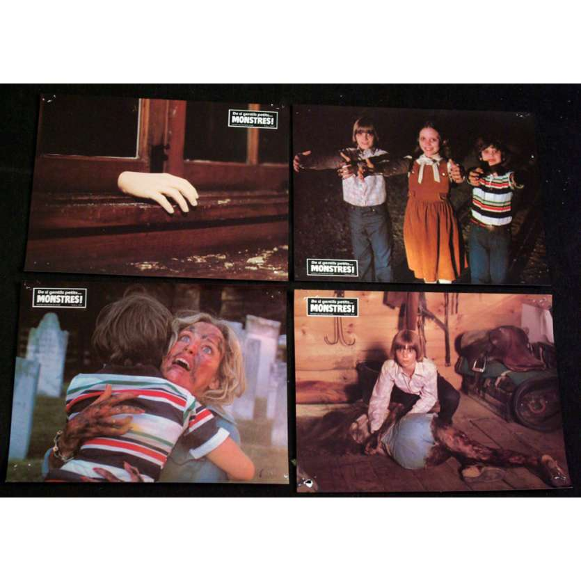 CHILDREN Lobby Cards x4 8x11 '80 Horror