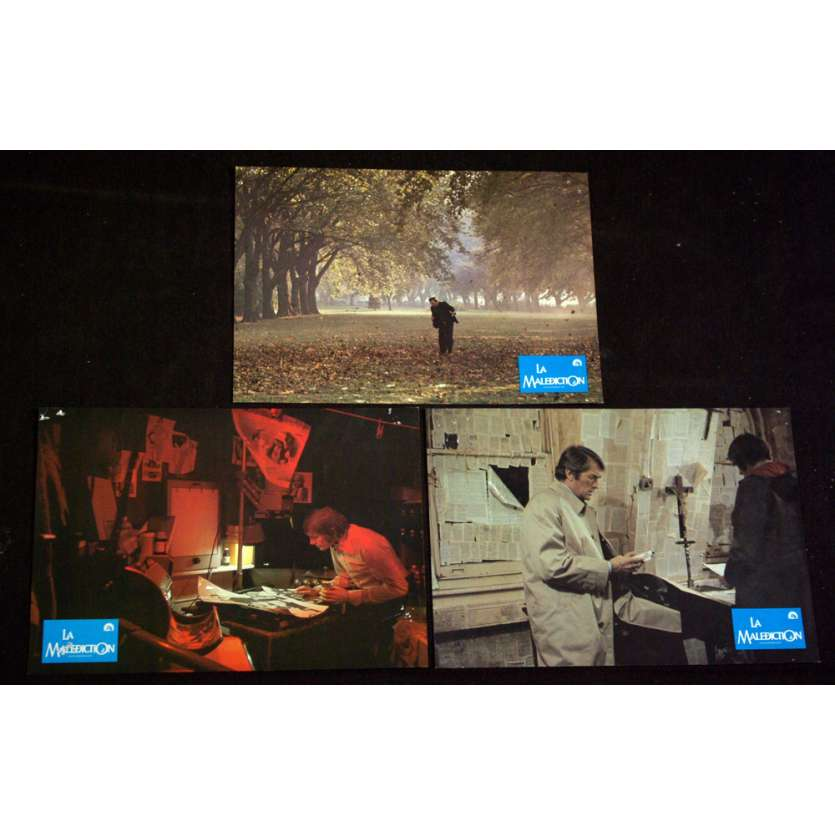 DAMIEN LA MALEDICTION Photos exploitation x3 '76 Gregory Peck, Lee Remick