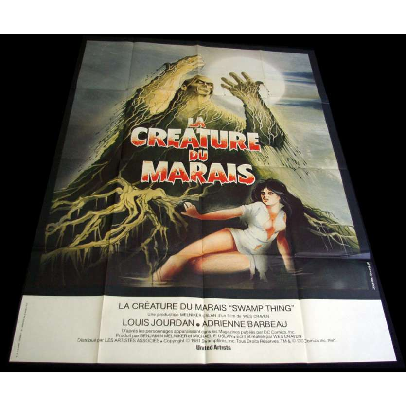 SWAMP THING Movie Poster 15x21 '82 Wes Craven, Adrienne Barbeau