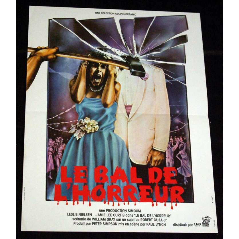 BAL DE L'HORREUR Affiche 40x60 FR '80 Jamie Lee Curtis