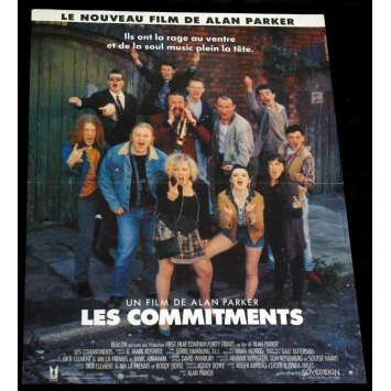 COMMITMENTS Affiche 40x60 FR '91 Alan Parker