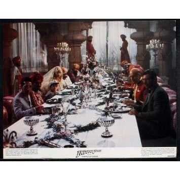 INDIANA JONES Photos exploitation N1 28x36 US '84 Spielberg, Ford Lobby Card