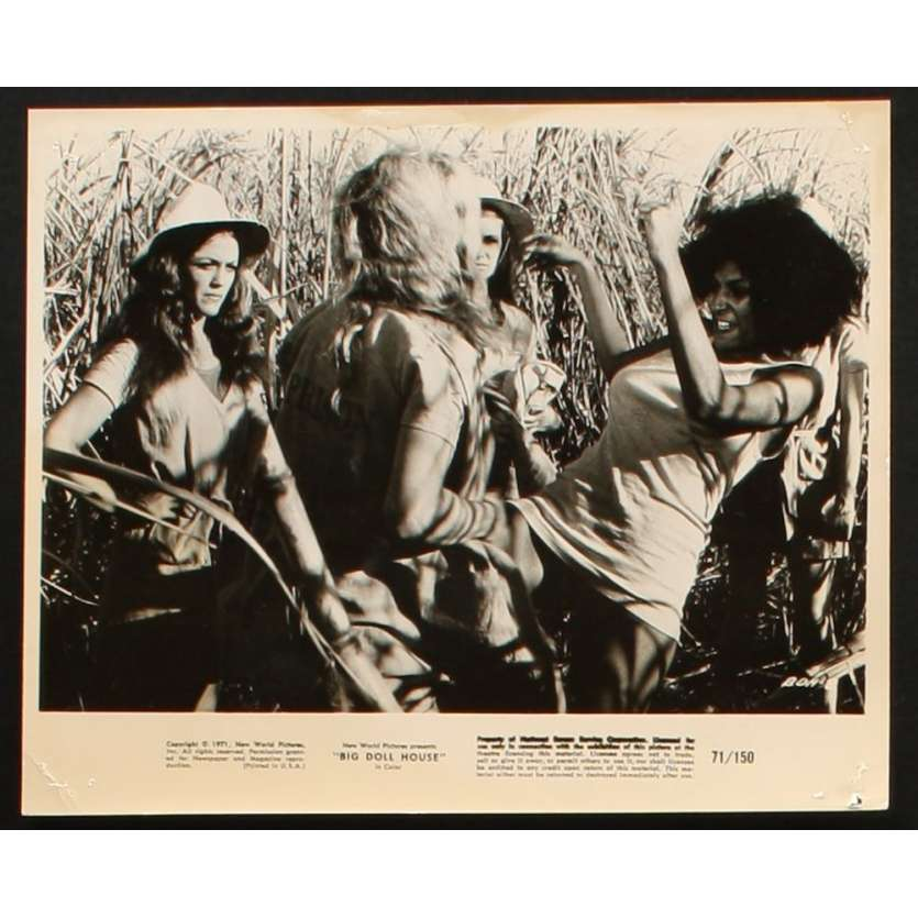 BIG DOLL HOUSE Photo presse 20x25 US '71 Pam Grier blaxploitation