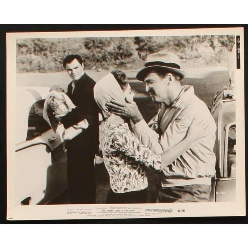 MR HOBBS PREND DES VACANCES Photo presse 20x25 US '62 James Stewart