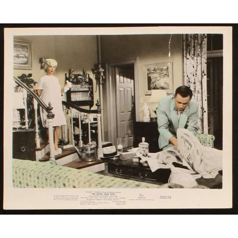 7 ANS DE REFLEXION Photo presse 20x25 US '55 Marilyn Monroe