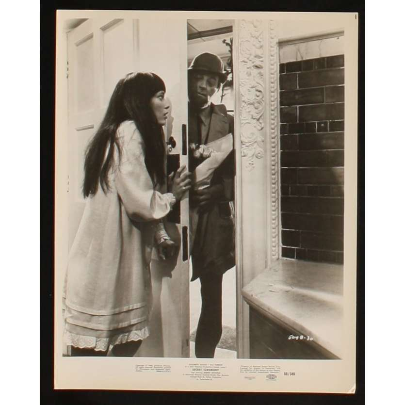SECRET CEREMONY Movie Still 2 8x10 '68 Robert Mitchum, Mia Farrow