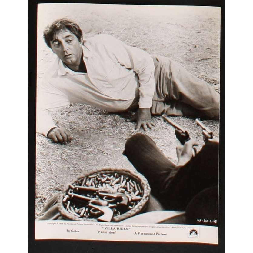 PANCHO VILLA Photo Presse 20x25 US '68 Robert Mitchum