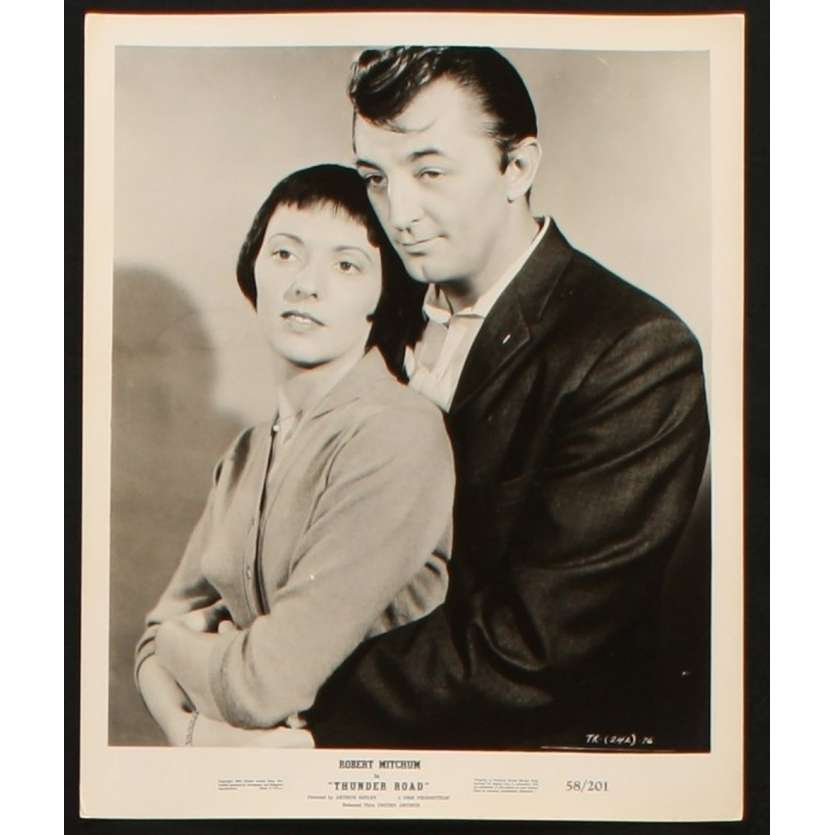 THUNDER ROAD Photo Presse 20x25 US '58 Robert Mitchum, Keely Smith