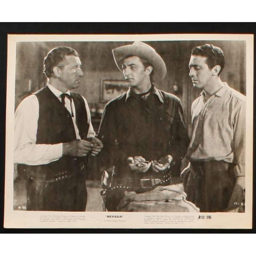 NEVADA Photo Presse 20x25 US R51 Robert Mitchum