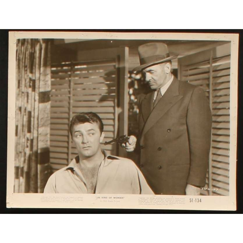 UNE ESPECE DE GARCE Photo Presse 20x25 US '51 Robert Mitchum
