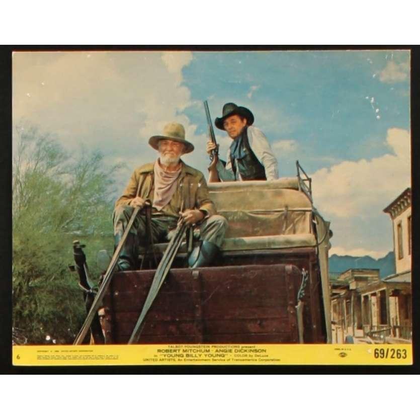 VENGEANCE DU SHERIF Photo exploitation 20x25 US '69 Robert Mitchum, Angie Dickinson