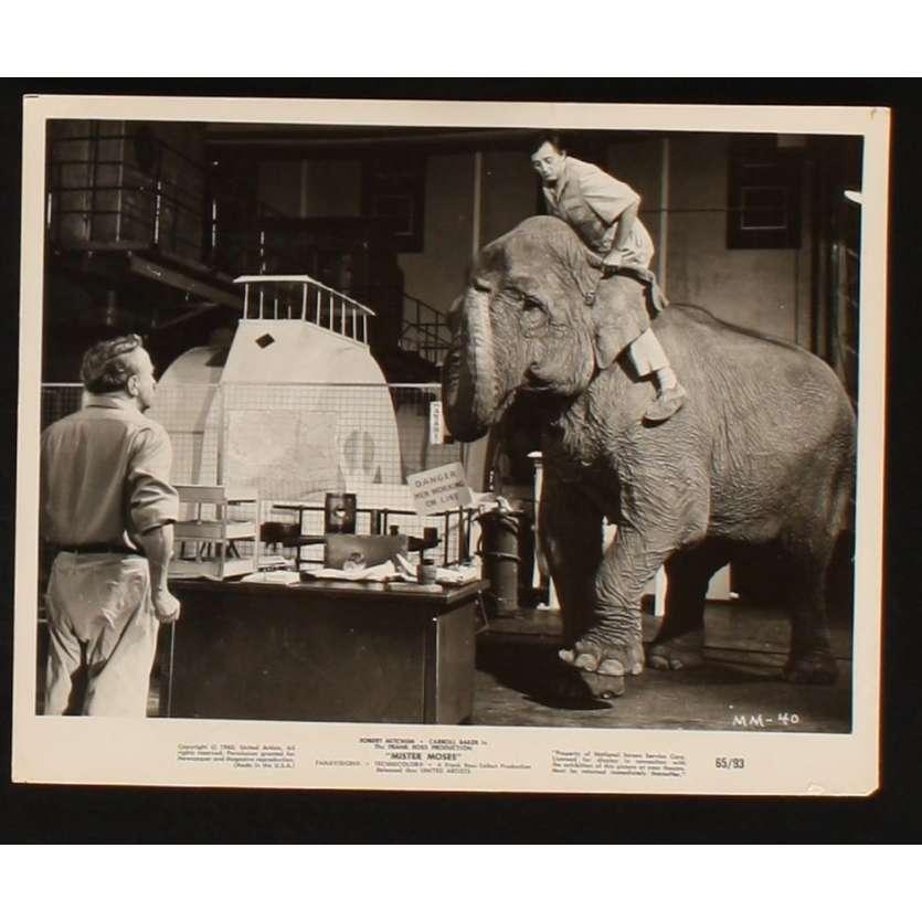 MISTER MOSES Photo Presse 20x25 US '65 Robert Mitchum, Caroll Baker