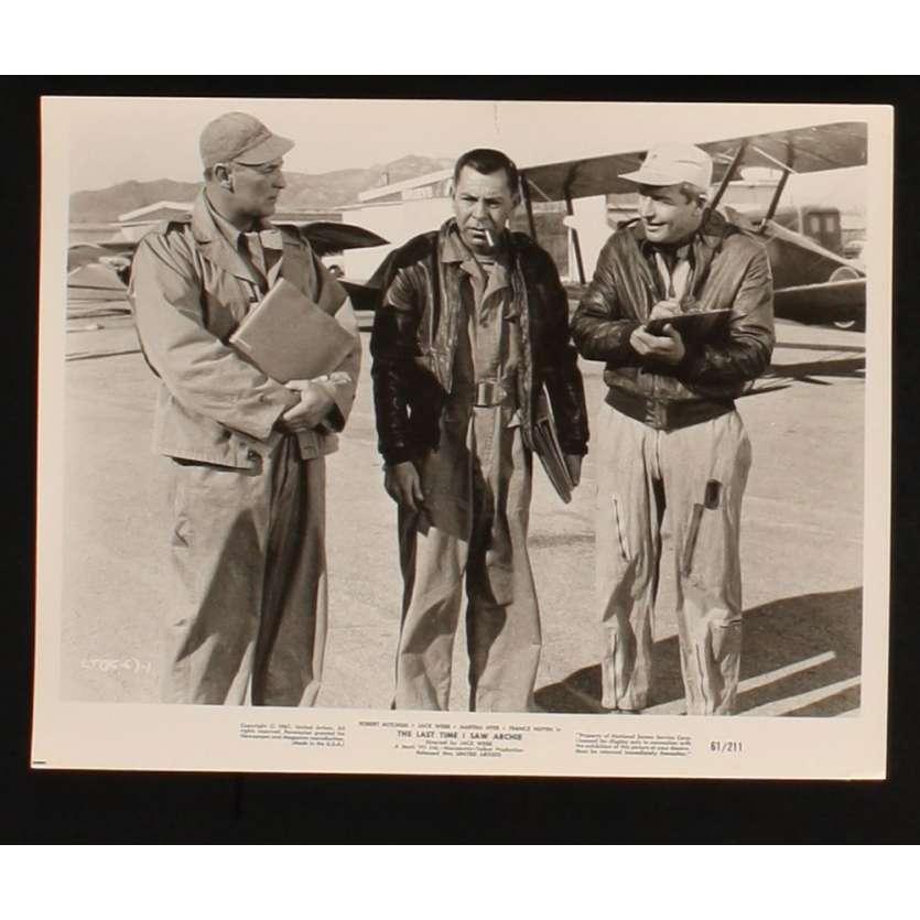 LA DERNIERE FOIS QUE J'AI VU ARCHIE Photo Presse 20x25 US '61 Robert Mitchum, Jack Webb