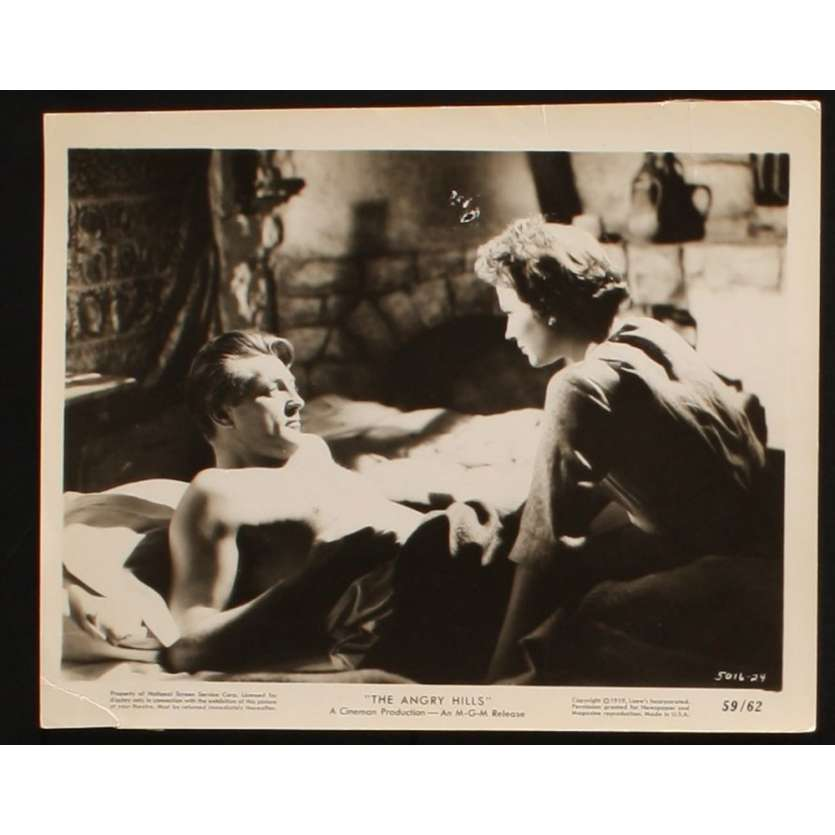 TRAHISON A ATHENES Photo Presse 20x25 US '59 Robert Mitchum