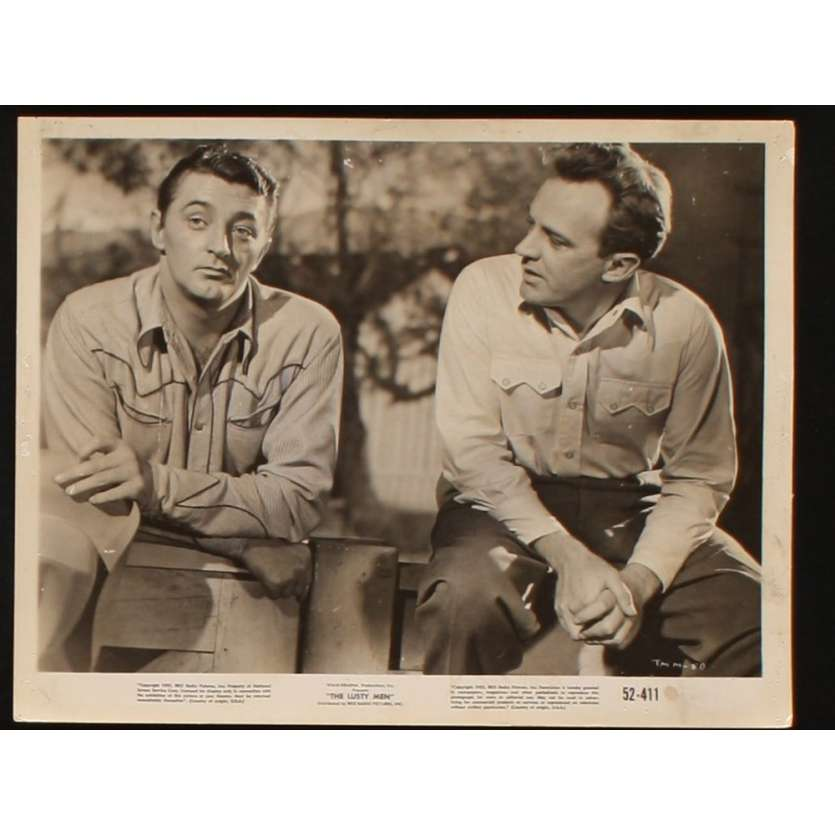 INDOMPTABLES Photo Presse 20x25 US '52 Robert Mitchum