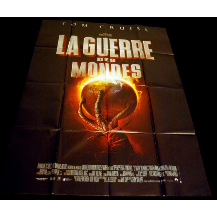 WAR OF THE WORLDS French Movie Poster 47x63 '05 Steven Spielberg, Tom Cruise