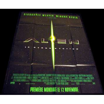 ALIEN IV French Movie Poster 47x63 '97 Sigourney Weaver, Jean-pierre jeunet