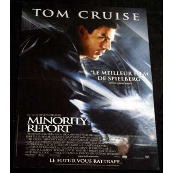 MINORITY REPORT Affiche 40x60 FR '02 Steven Spielberg, Tom Cruise