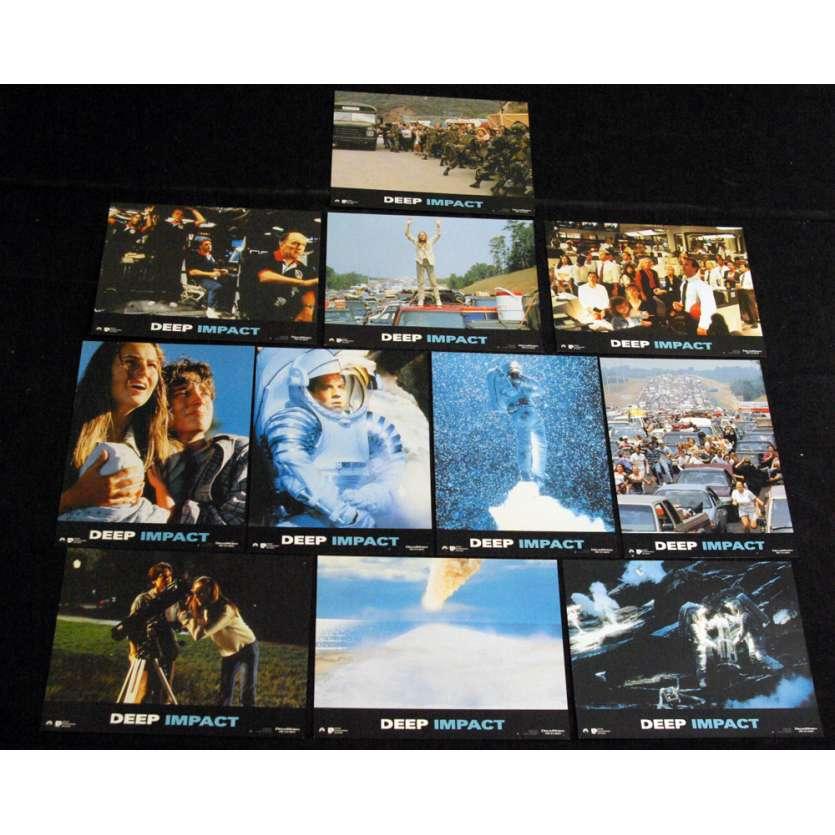 DEEP IMPACT Photos exploitation 21x30 FR x11 Morgan Freeman