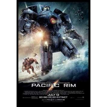 PACIFIC RIM Affiche prev. US '13 Guillermo del Toro