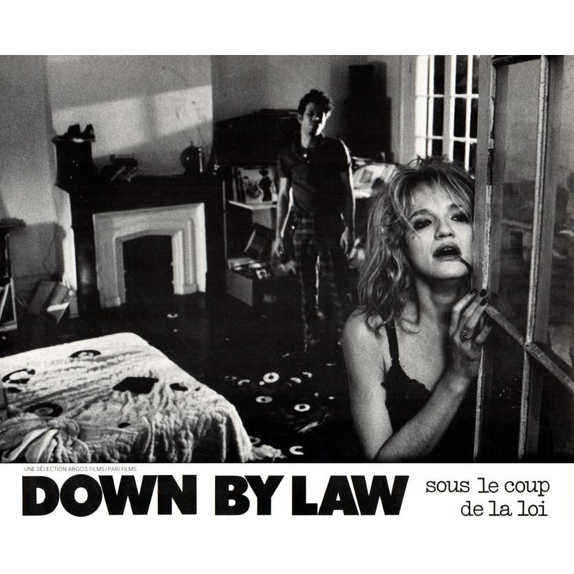 DOWN BY LAW French DeLuxe Lobby Card N1 9x12 '86 Jim Jarmush, Tom Waits, Benigni LC