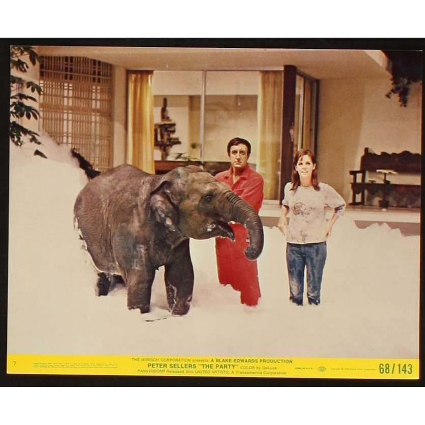 PARTY 8x10 Lobby Card N6 '68 Peter Sellers, Claudine Longet, Blake Edwards