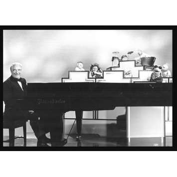 MUPPET SHOW Rare Photo de presse TV 3 US '79 Victor Borge, Jim Henson