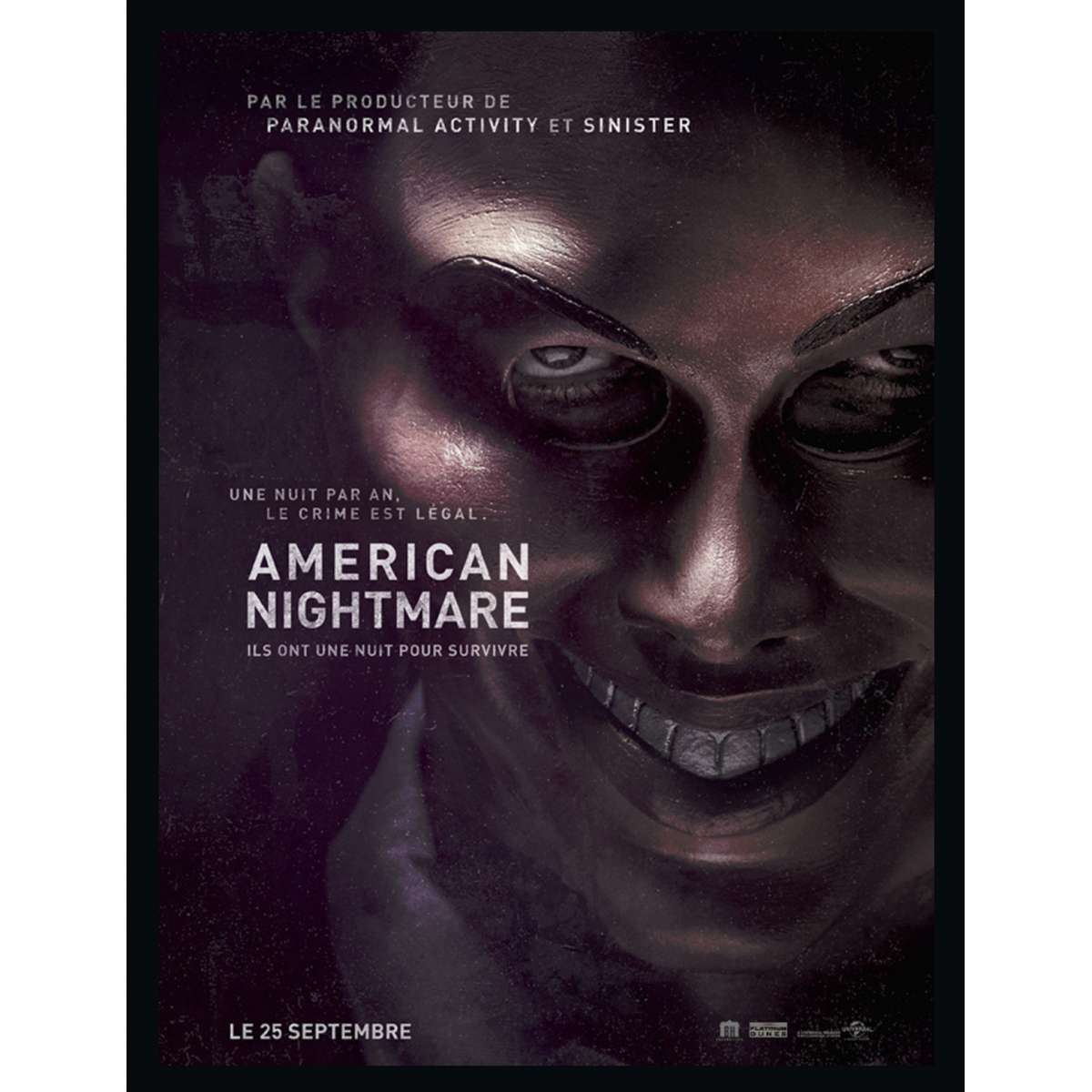 AMERICAN NIGHTMARE French Movie Poster