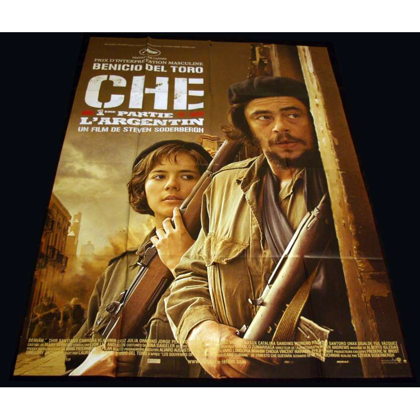 CHE PART ONE French Movie Poster 47x63 '08 Steven Soderbergh, Benicio des Toro
