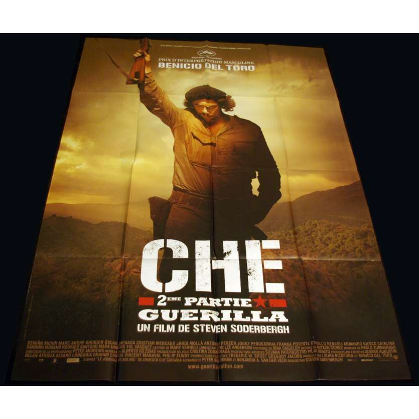 CHE PART TWO French Movie Poster 47x63 '08 Steven Soderbergh, Benicio des Toro