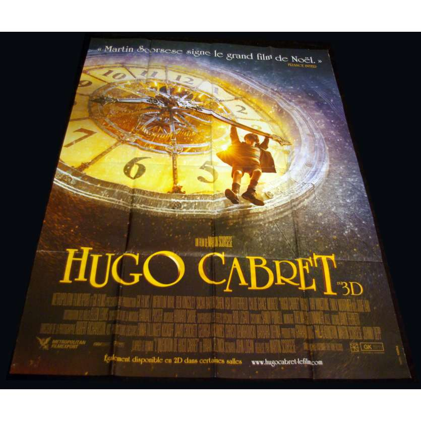 HUGO French Movie Poster 47x63 '11 Martin Scorcese