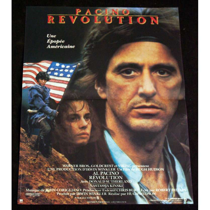 REVOLUTION French Movie Poster 15x21 '85 Al Pacino, Nastassja Kinski