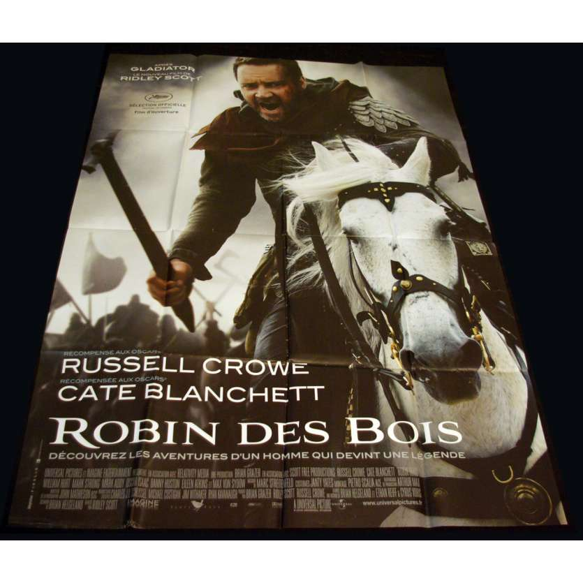 ROBIN HOOD French Movie Poster 47x63 '10 Ridley Scott, Russel Crowe