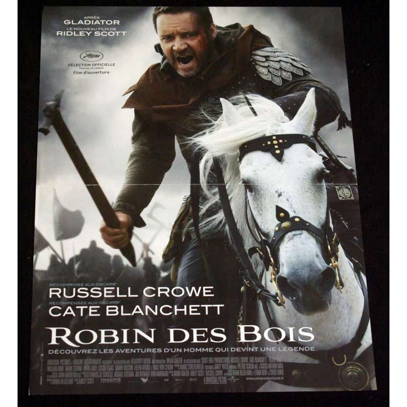 ROBIN HOOD French Movie Poster 15x21 '10 Ridley Scott, Russel Crowe Movie Poster
