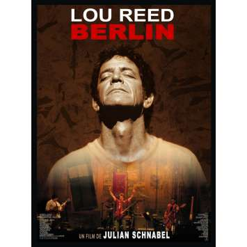 LOU REED BERLIN French Movie Poster 47x63 '07 Julian Schnabel