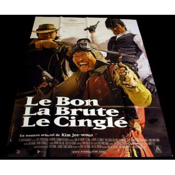GOOD, THE BAD AND THE WEIRD French Movie Poster 47x63 '08 Kim Jee-Woon