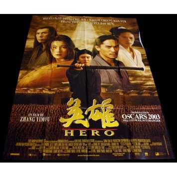 HERO French Movie Poster 47x63 '02 Zhang Yimou, Ying xiong