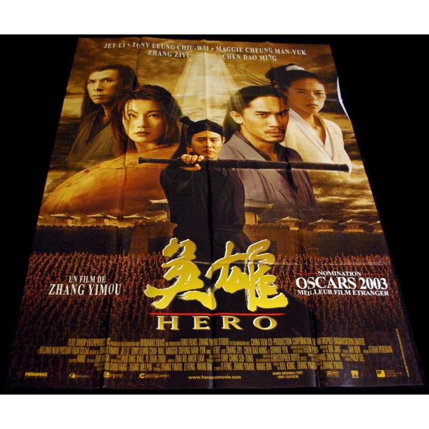 HERO Affiche 120x160 FR '02 Zhang Yimou, Ying xiong