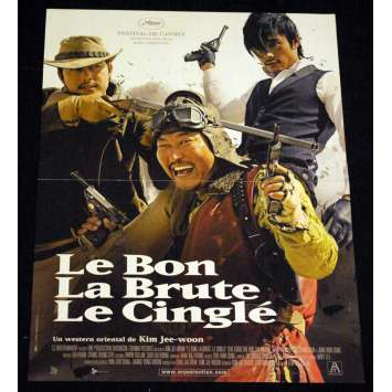 GOOD, THE BAD AND THE WEIRD French Movie Poster 15x21 '08 Kim Jee-Woon
