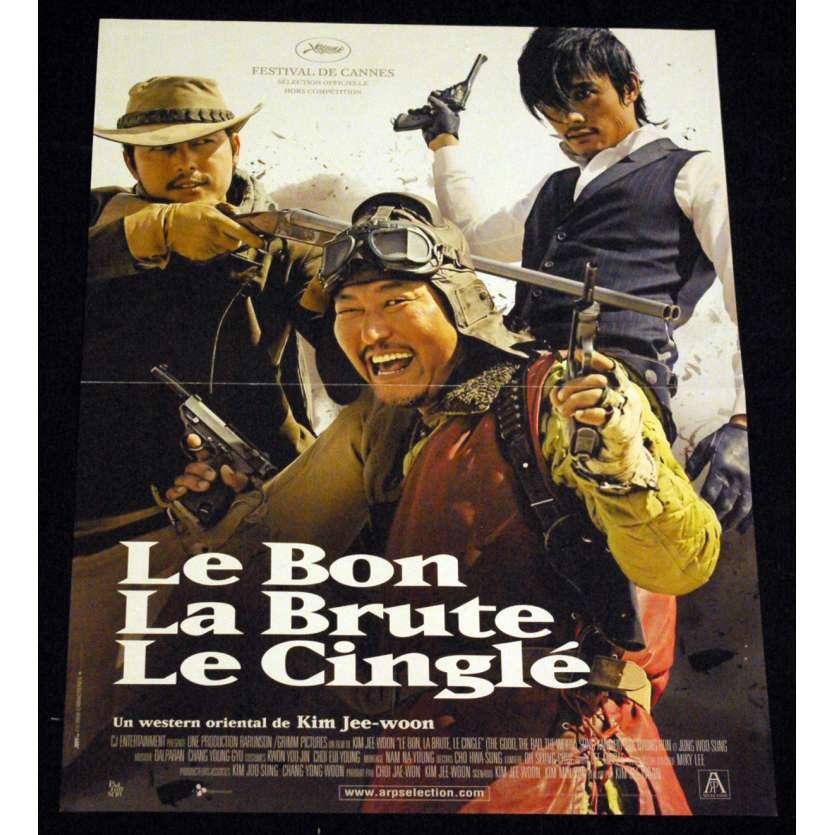 BON, LA BRUTE ET LE CINGLE Affiche 40x60 FR '08 Kim Jee-Woon