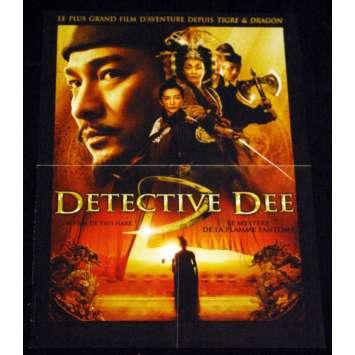 DETECTIVE DEE French Movie Poster 15x21 '10 Tsui Hark, Di Renjie zhi tongtian diguo